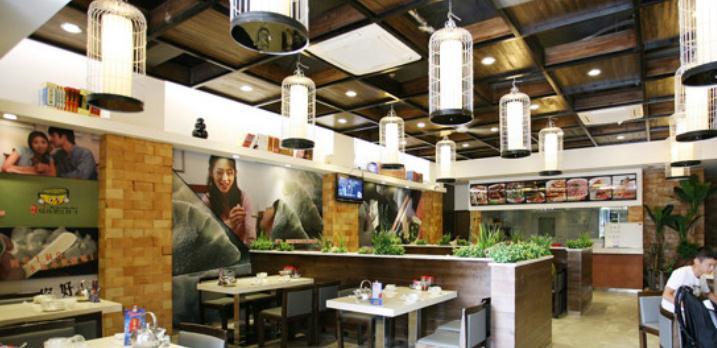 黑天鹅饺子馆环境