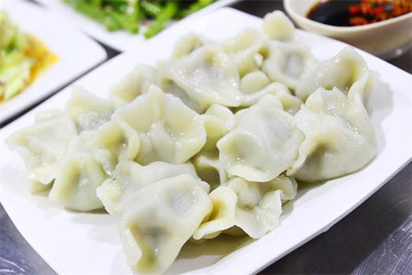 东北菜饺子馆盘子