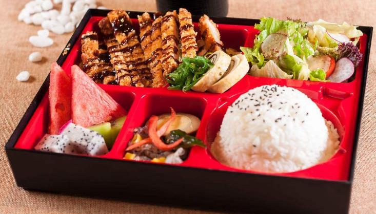 真百味中式快餐猪排饭