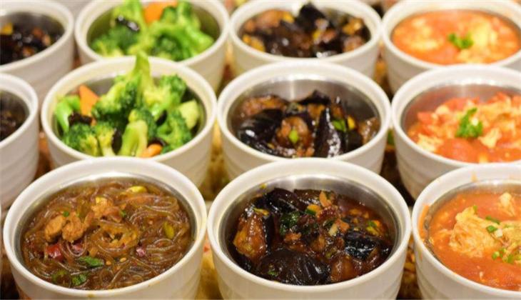 食尚客中式快餐蒸碗区