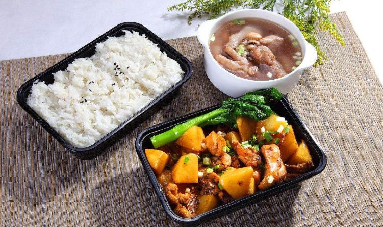 我想中式快餐土豆鸡块套餐