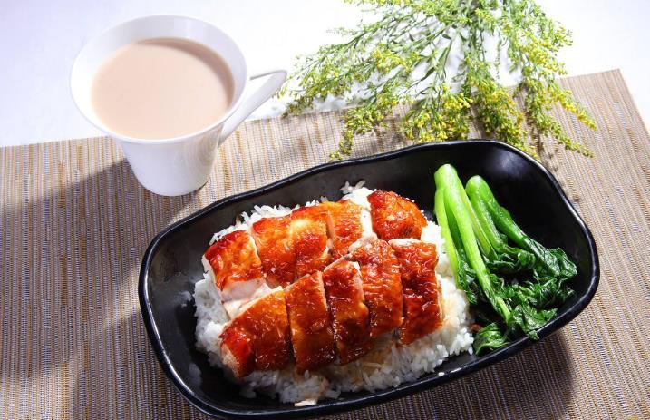 我想中式快餐鸡肉套餐