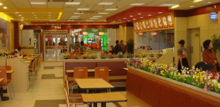 好乐福中式快餐连锁店面