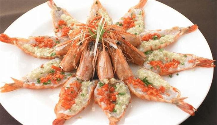 百粤楼中餐厅蒜蓉虾