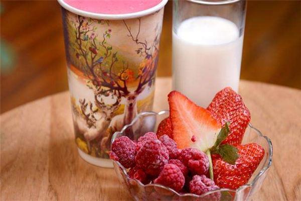 诱莓饮品美味