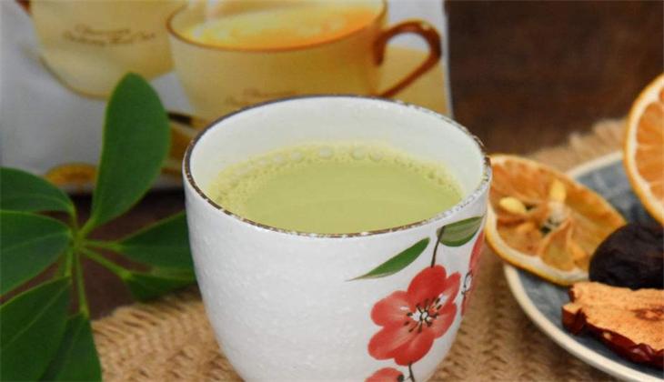 知乐饮品抹茶