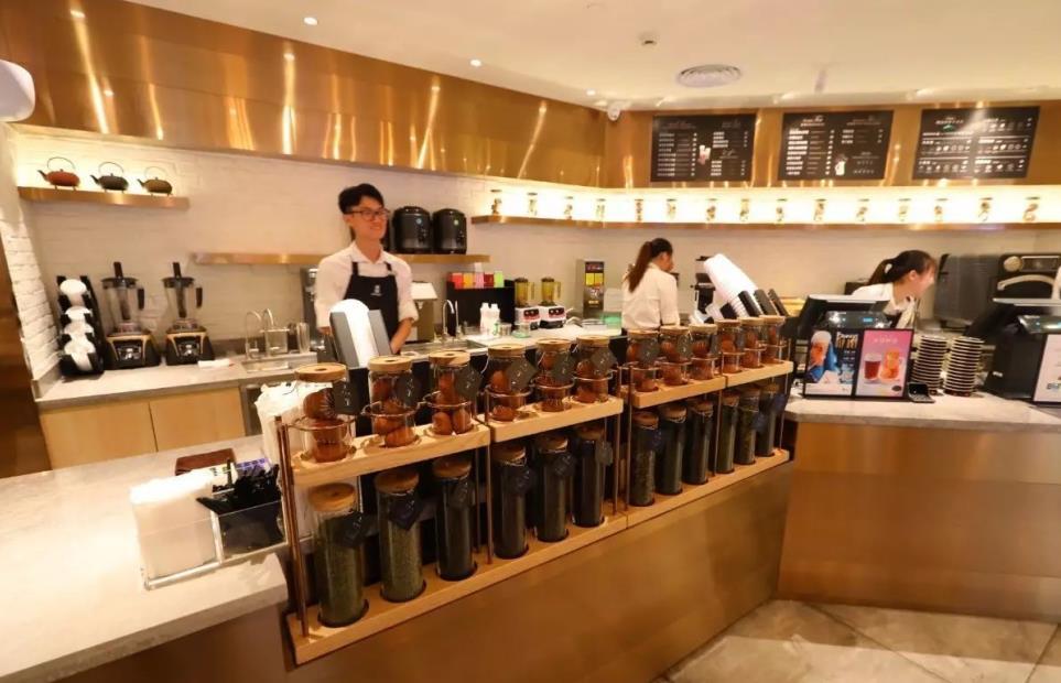 布维记茶饮店铺
