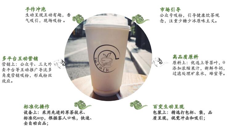 茗言·TEATALK茶饮加盟