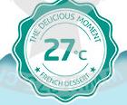 27℃法式甜品加盟