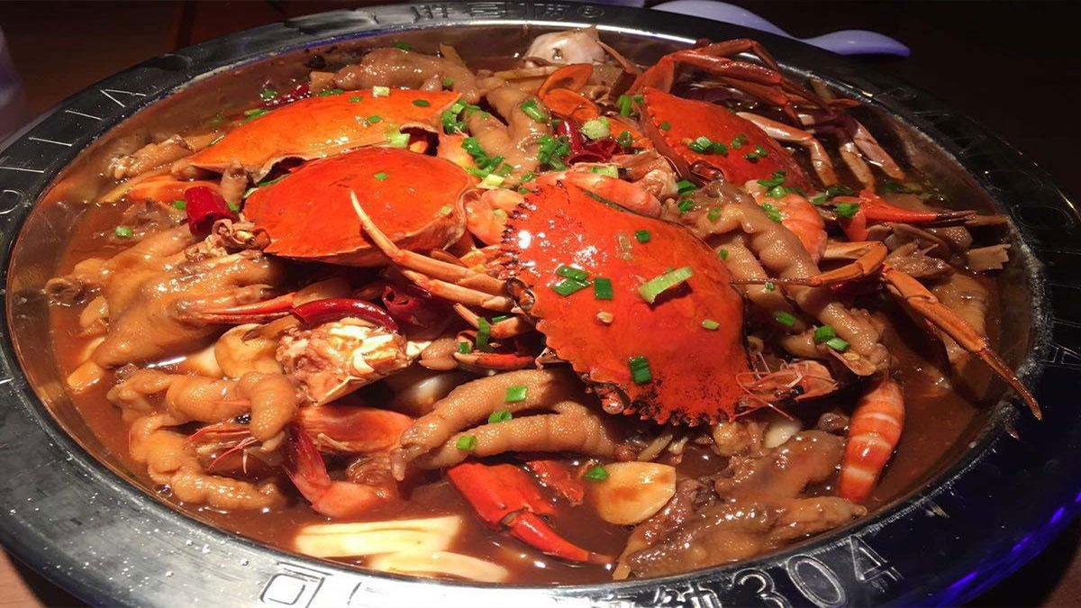 探蟹肉蟹煲加盟