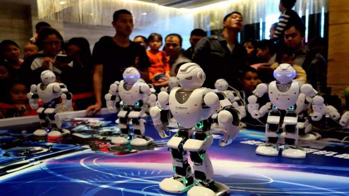 乐聚机器人加盟