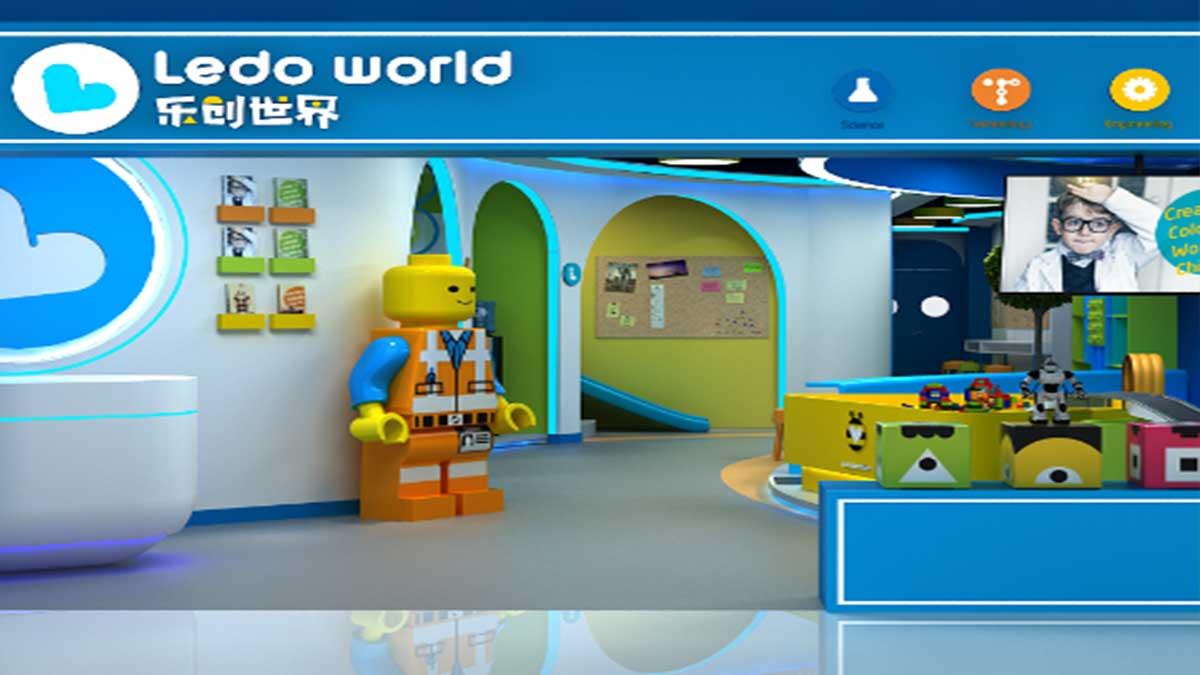 乐创世界机器人加盟