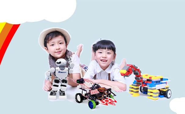 乐博乐博让孩子和机器人一起学编程!
