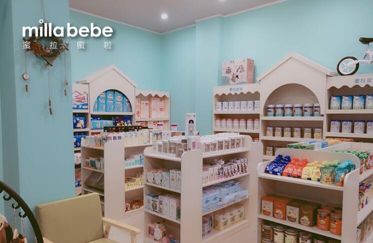 母婴店装修设计,如何花最少的钱提高店面格调?