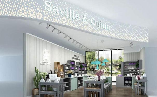 英国Saville & Quinn萨维尔琨护肤特色门店风格,引领护肤新浪潮。