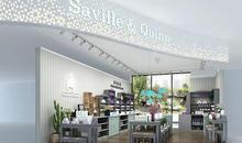 英国Saville萨维尔琨护肤特色门店风格,引领护肤新浪潮!