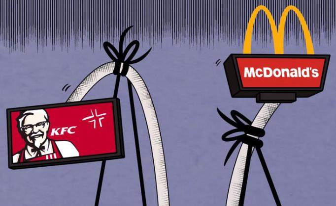 """麦当劳、肯德基成全球最大""""品牌连锁公厕"""",这背后蕴含着啥学问"""