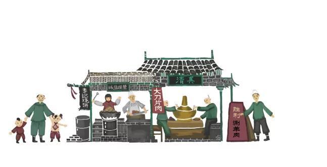 解密阳坊胜利涮肉36年的老字号餐饮,如何做到直播间每2人就有1人下单?